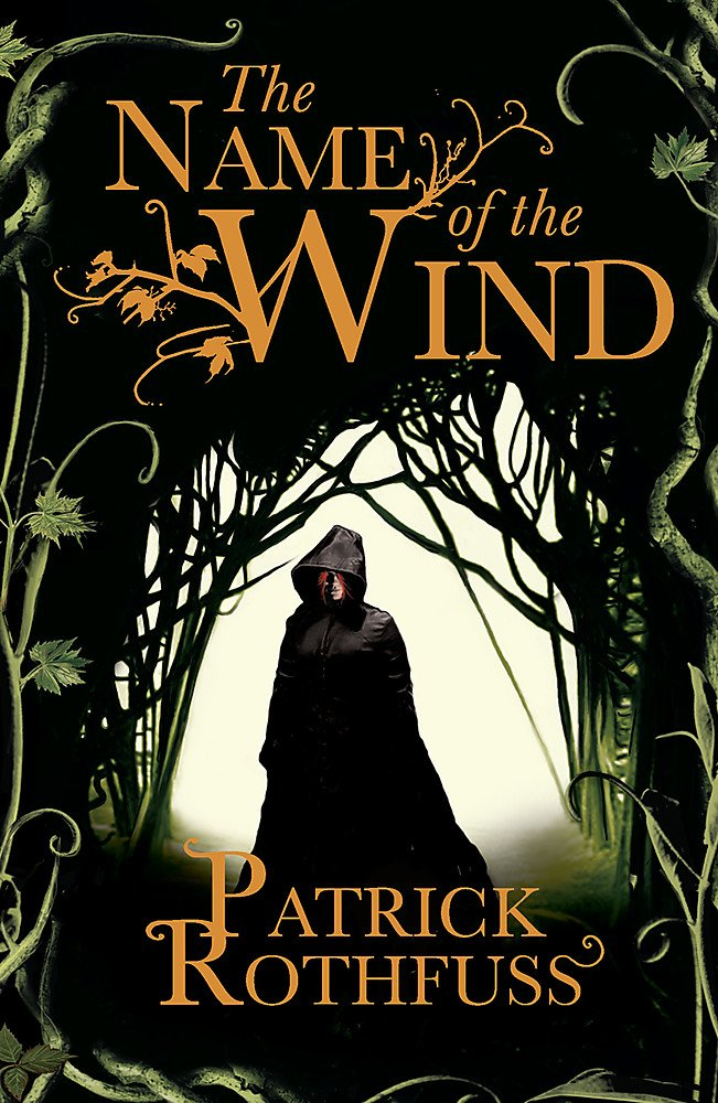 book cover of Patrick Rothfuss' The Name of the Wind